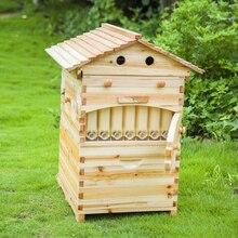 Инструмент для пчеловодства умный деревянный улей Langstroth мед из струящийся пчелиный улей с 7 шт. авто рамки