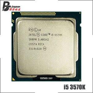 Image 1 - Intel Core i5 3570K i5 3570K 3.4 GHz Quad Core מעבד מעבד 6M 77W LGA 1155
