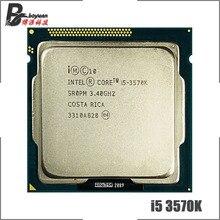 Intel Core i5 3570K i5 3570K 3.4 GHz dört çekirdekli İşlemci 6M 77W LGA 1155