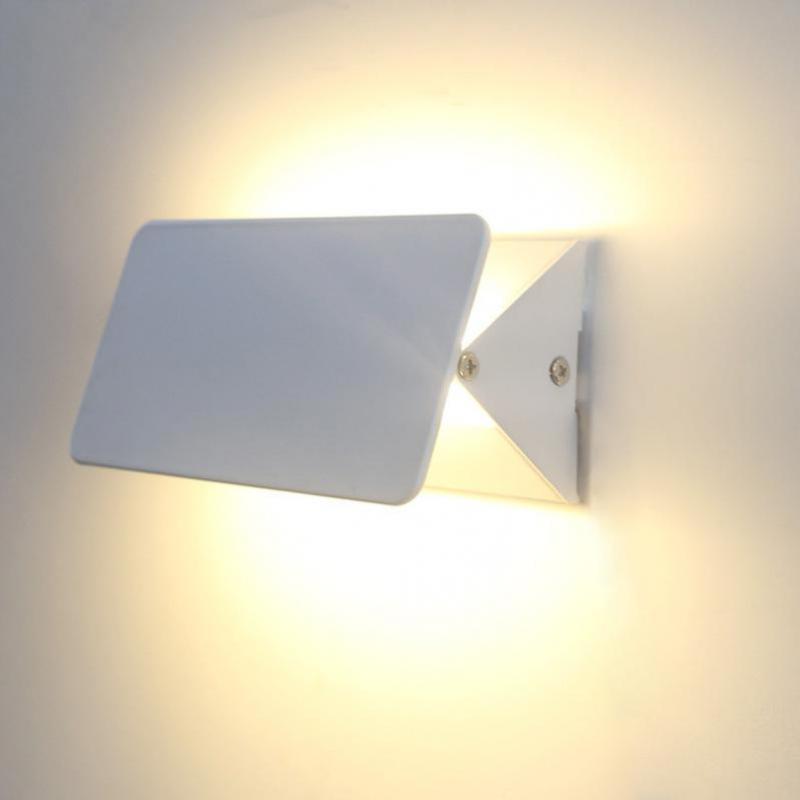 Applique murale en aluminium réglable Abajur de lampe de mur LED moderne pour la chambre à coucher dinant le Luminaire de mur d'éclairage d'intérieur de salon