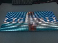 192X192mm 32X16 Pixels 1 16 Scan 3in1 SMD RGB Full Color P6 Led Module For Indoor
