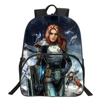 Special Offer Popular Oxford 16 Inch Printing Star Wars Children Backpacks Cool Kids School Bags For