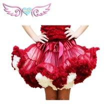 Модная пышная Пышная юбка из шифона, вечерние юбки-пачки для танцев, Женская юбка в стиле Лолиты, 1 шт.,, для детей 1-18 лет