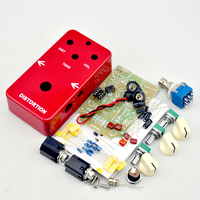 NEW DIY Electric Guitar Distortion Effect Pedal Switch Electric Pedal Guitarra Effect Kits True Bypass 1590B