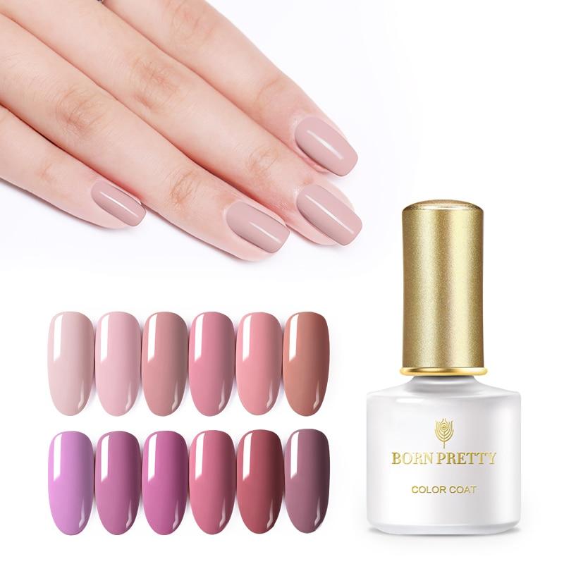 6ml BORN PRETTY UV Gel Nail Polish Soak Off Pure Color Gel