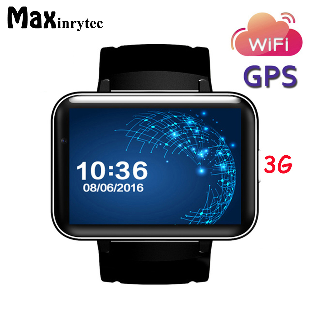DM98 GPS Location Bluetooth Smart Watch men women 2.2 inch Android OS 3G Smartwatch Phone MTK6572A 1.2GHz Camera wifi gps watch domino dm98 3g smartwatch phone