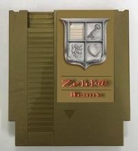 O ZELD @ 38 REMIX em 1 Cartucho de Jogo de NES Console