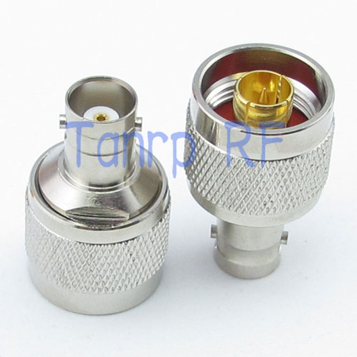 ФОТО Wholesale 10pcs/lot  N male plug to BNC female jack straight  RF coaxial connector adapter cable