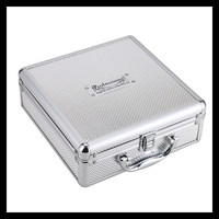 Liberty maschine box Günstige Perfekte Professionelle Koffer Portable Damen Make-Up Fall Schmuck Aufbewahrungsbox Aluminium Organizer