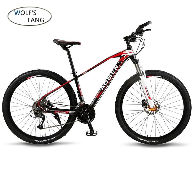 Vélo Vtt 27 Vitesse 29 pouces Roues Double Disque De Frein Cadre En Aluminium VTT Hydraulique De frein de Vélo vélo de route Nouvelle produit