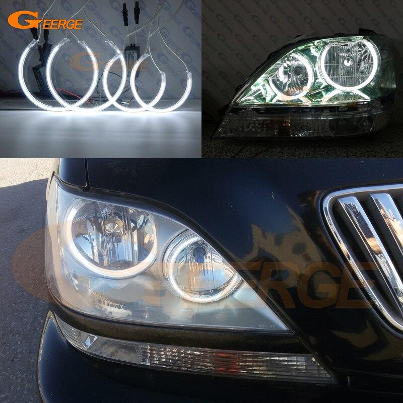 Fits Lexus RX 400h White 54-SMD LED 12v Number Plate Light Bulb ...