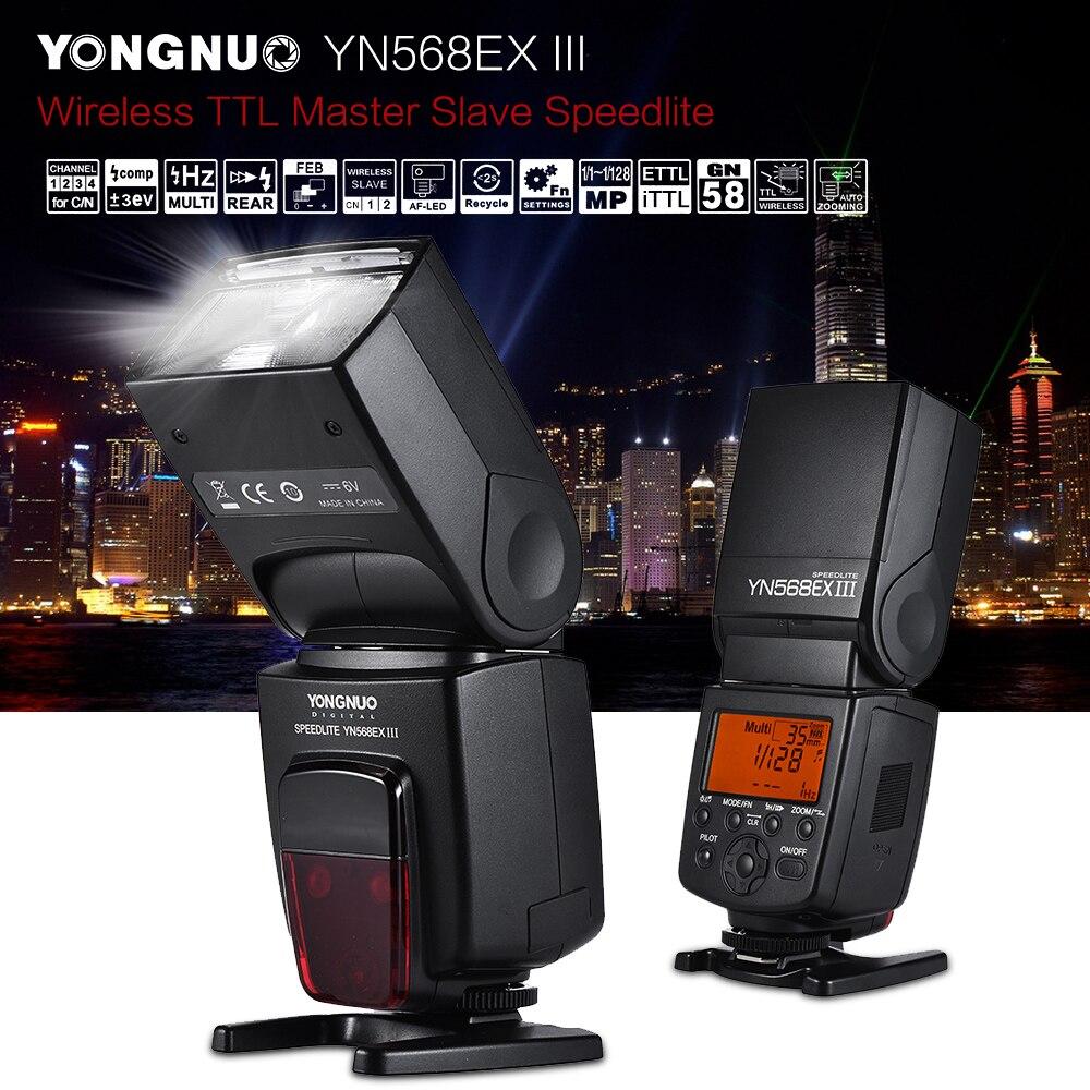 YONGNUO YN568EX III Wireless TTL HSS Flash Speedlite for Canon 1100d 650d 600d 700d DSLR Camera