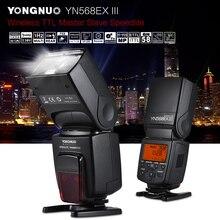 YONGNUO YN568EX III bezprzewodowy TTL Flash HSS Speedlite do canona 1100d 650d 600d 700d lustrzanka cyfrowa lampa błyskowa Speedlite