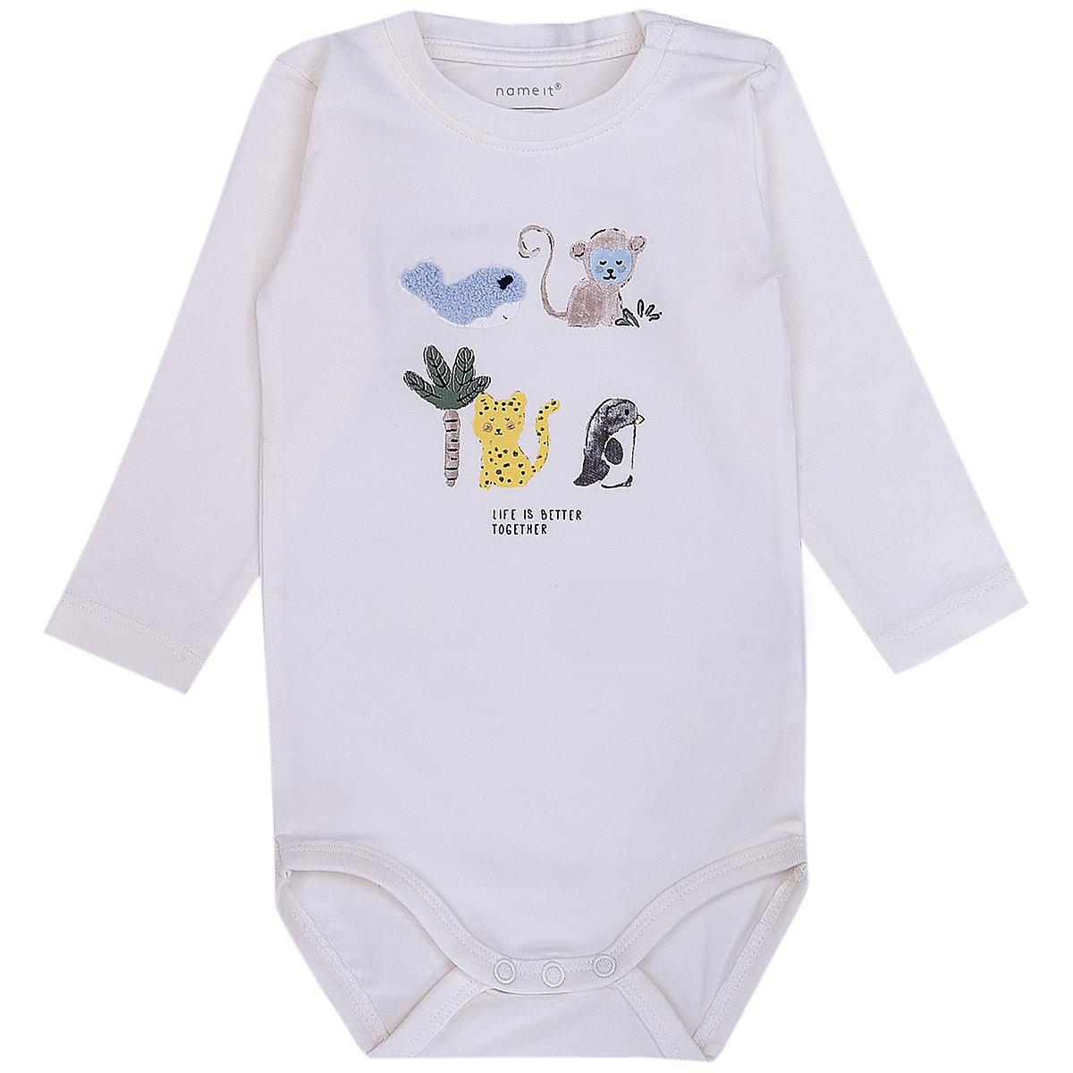 NAME IT Bodysuits 10626671 baby clothing bodysuit for boys and girls цены онлайн