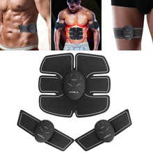 Wireless Electric Muscle Stimulator EMS Massager Body Slimming Shaper Machine TENS Electronic Abdominal Fitness Accessories