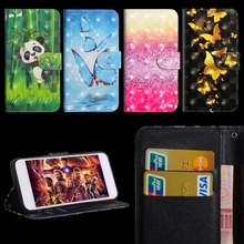 Luxury Flip Leather Case For Sony Xperia XA1 G3116 Cover 3D Painted Wallet Card Slot Silicone Cover For Sony Xperia XA1 Case цена и фото