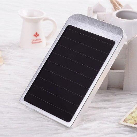 NEW! Mobile Backup Bateria Externa Power Bank 5600mah Solar Charger Portable Charger Powerbank carregador de bateria portatil