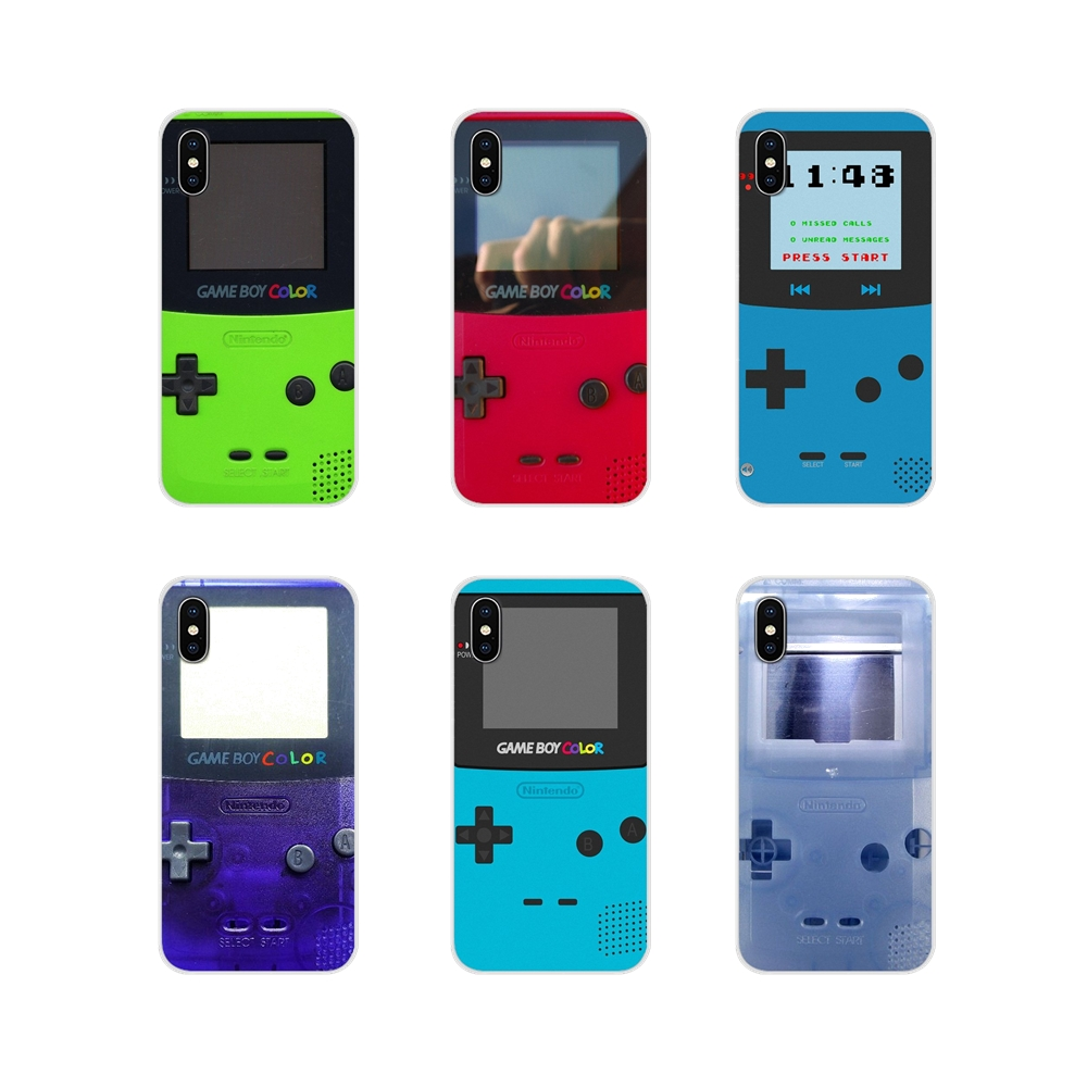 For Samsung <font><b>Galaxy</b></font> S4 S5 MINI S6 S7 edge S8 S9 S10 Plus Note 3 4 5 8 <font><b>9</b></font> Silicone Bag Case ameboy Game Boy PSP Game Box protective image