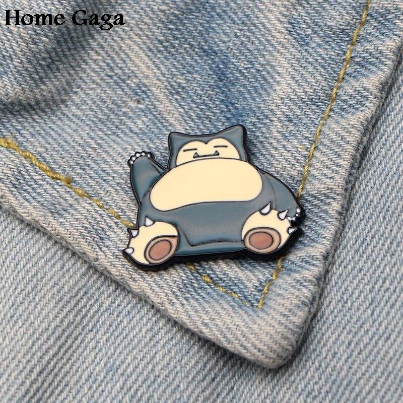 Apparel Sewing & Fabric 10pcs/lot Homegaga Pocket Monsters Zinc Cartoon Funny Pins Backpack Clothes Brooches For Men Women Hat Decoration Badges D1599