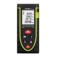 40M Laser Distance Meter Digital Electronic Handheld Precision 1 5mm Rangefinder Tape Measure Portable Area Volume