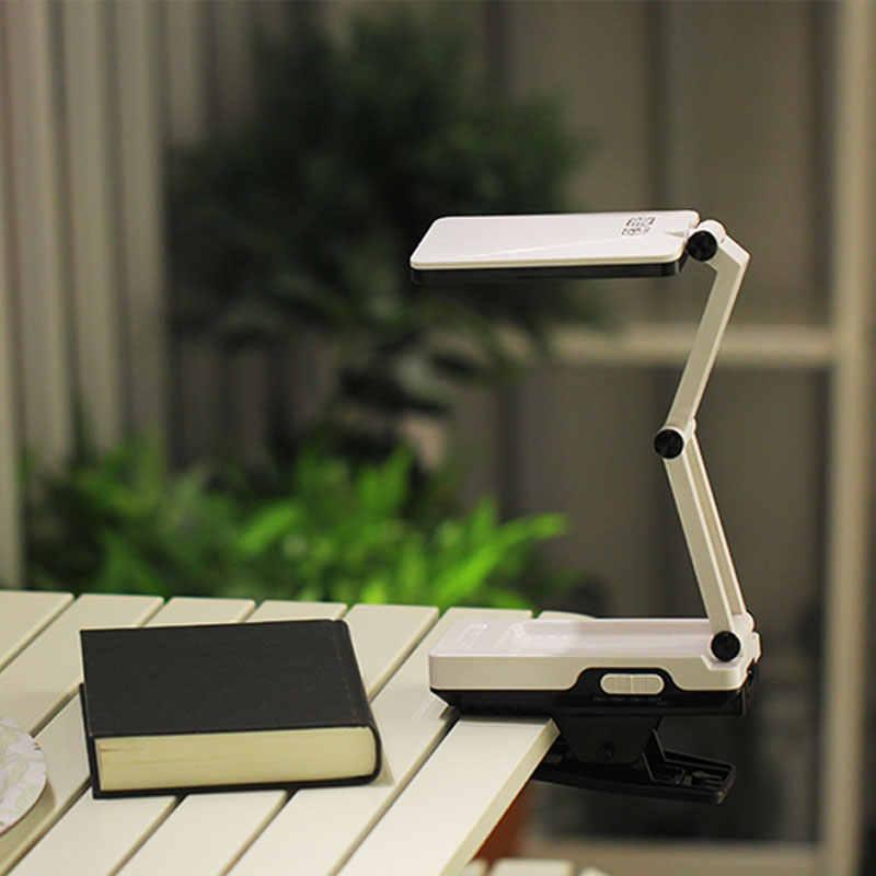 YAGE 3984 книга чтение свет настольная лампа led лампа для чтения книг клип света Современный Складной С 22 LED Для Спальни Индикатор заряда