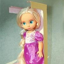 1PCS/SET Rapunzel Dolls Animators Fairy Collection Rapunzel Princess Fairy Toys PVC Action Figure Girls Gift Brinquedos 16 Inch