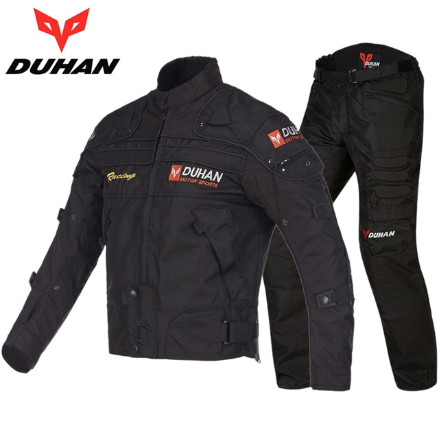 Free shipping 1set men Motorcycle Racing Suits Motorcycle Jacket Motorcycl Biker Armor Reflective Clothes  with 5 pcs pads