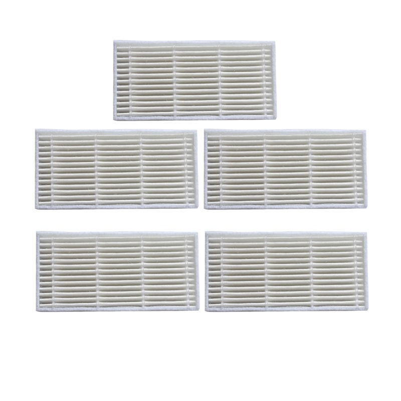 5 pieces/lot Robot Vacuum Cleaner Parts HEPA Filter for Proscenic series SUZUKA series 780T/KAKA robot vacuum cleaner hepa filter for lg vr65710 vr6260lvm vr6270lvm robotisc cleaner