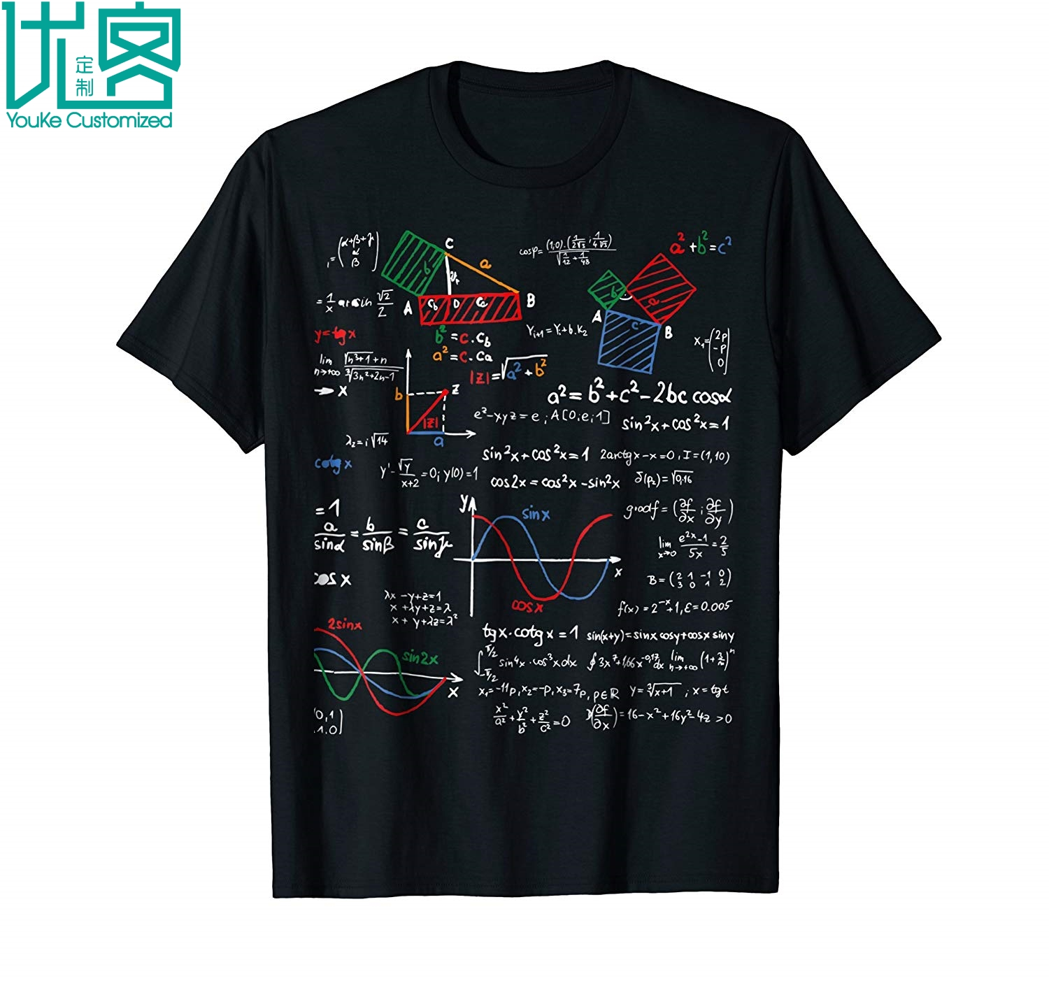 Worldwide delivery math shirt formula in Adapter Of NaBaRa