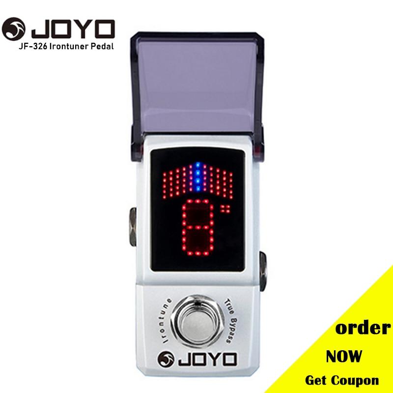 JOYO JF 326 IRONMAN Mini Tuner Guitar Effect Pedal Tuner Stompbox High Sensitivity Precision True Bypass