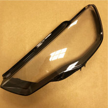 Front headlights glass mask lamp cover transparent shell  masks For Audi A3 2013-2015