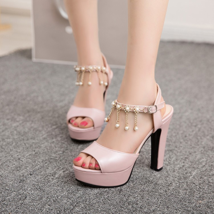 Big Size 11 12 13 14 15 16 17 high heels sandals women shoes woman summer ladies Shallow-mouthed Fishmouth SandalsBig Size 11 12 13 14 15 16 17 high heels sandals women shoes woman summer ladies Shallow-mouthed Fishmouth Sandals