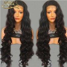 150% Density Glueless Full Lace Human Hair Wigs Front Lace Wigs Body Wave Lace Front Human Hair Wigs For Black Women Magic Wigs