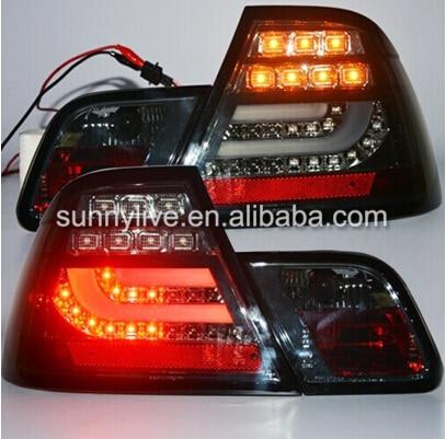 2003-2005 year For BMW E46 2 doors 320 328 325 330CI LED Tail Lamp Rear Lights Smoke Black Color SN авита ру продать камаз зерновоз 2003 2005 года