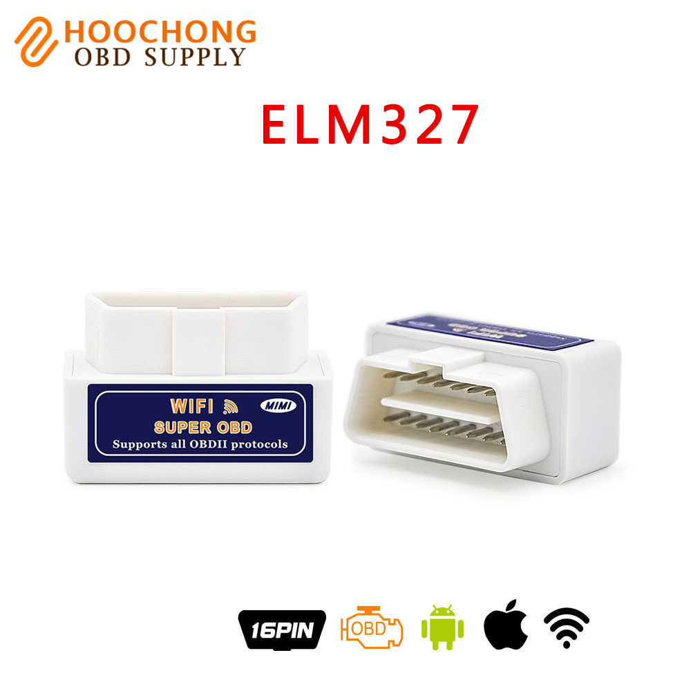 elm327 wifi version ELM327 WIFI function OBDII obd Car Auto Diagnostic Scan Tool For iOS Android iPhone iPad diagnostic-tool