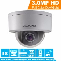HIK English Version CCTV Camera DS 2DE3304W DE 3MP Network Mini PTZ Repositionable 2 8mm 12mm