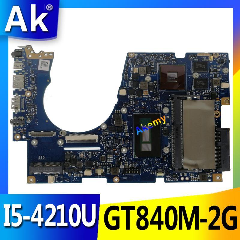 AK UX303LN Laptop Motherboard For ASUS UX303LN UX303LB UX303L UX303 Test Original Mainboard 4G RAM I5-4210U GT840M-2G