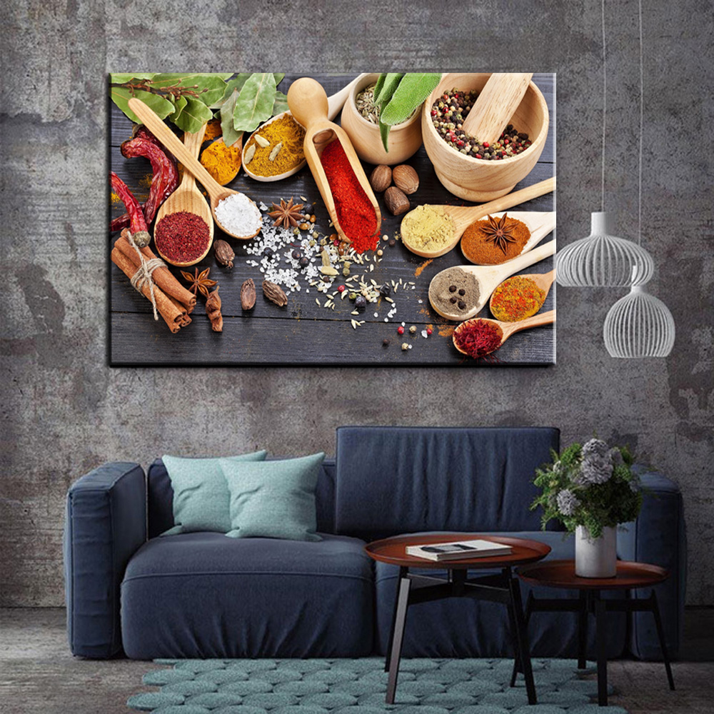 Wall-Poster Art-Paintings Cuadros-Decoration Canvas Kitchen-Theme Prints And Various
