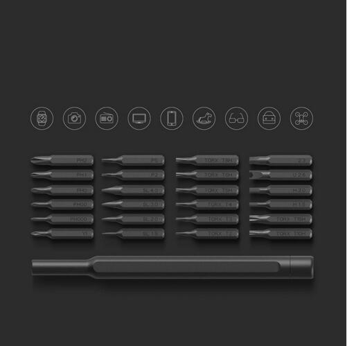 Original high quality Xiaomi Mijia Wiha Daily Use Kit 24 Precision Magnetic Bits Alluminum Box DIY Screw Driver Smart Home Set