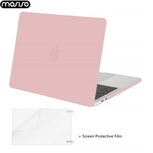 MOSISO Matte Laptop Case For Apple Macbook Pro 13 15 Inch 2019 Hard New Mac A1707  A1706 A1989 A1990 Shell