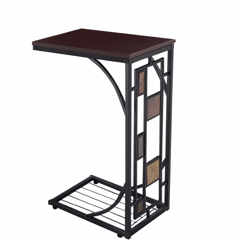 Goplus Coffee Tray Side Sofa Table Ottoman Couch Room Console Stand End TV  Lap Snack HW59075 In Coffee Tables From Furniture On Aliexpress.com |  Alibaba ...