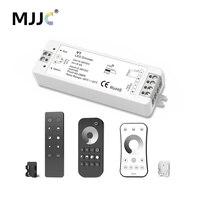 LED דימר 12 V 5 V 24 V 36 V PWM אלחוטי RF LED דימר מתג על את עם 2.4 גרם מרחוק דימר לצבע יחיד LED רצועת אור