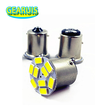 100X Truck LED 24V 1156 P21W BA15S 9 SMD 5630 5730 auto Turn signal light reverse lamp bulb white red Green yellow Ice Blue