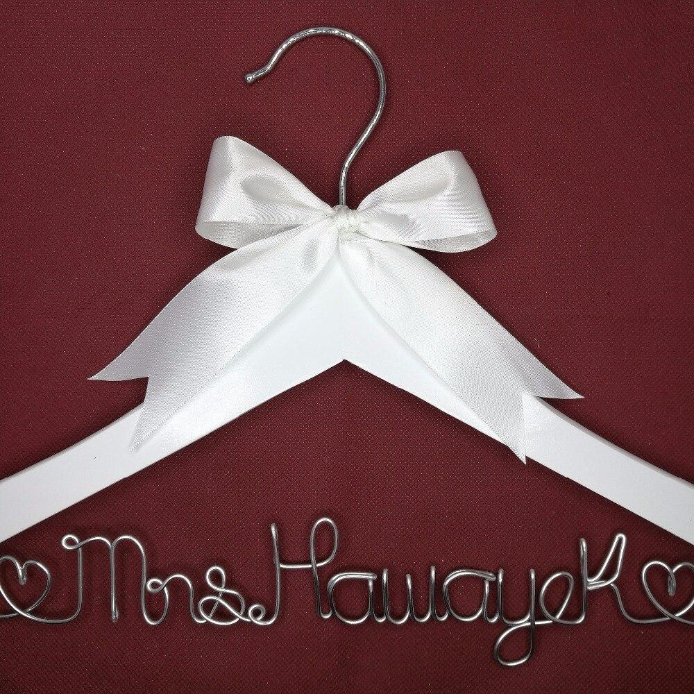 Cuier de nunta personalizat, cadouri de domnisoare de onoare, cuier - Organizarea și depozitarea în casă - Fotografie 2