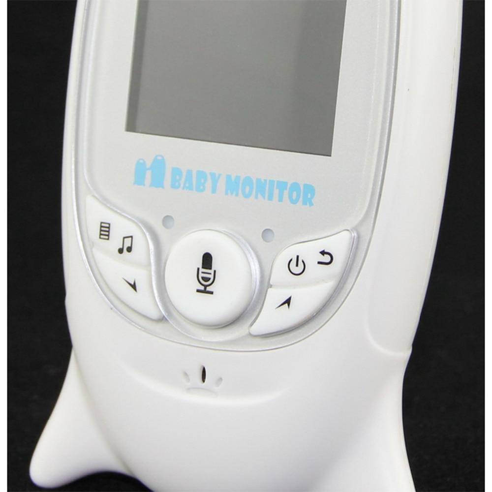 Night Vision Infant Wireless Monitor Baby Digital Video Monitor Camera Audio Music Temperature Display Radio Nanny Monitor