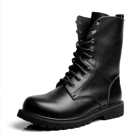 Black Short Combat Boots Promotion-Shop for Promotional Black