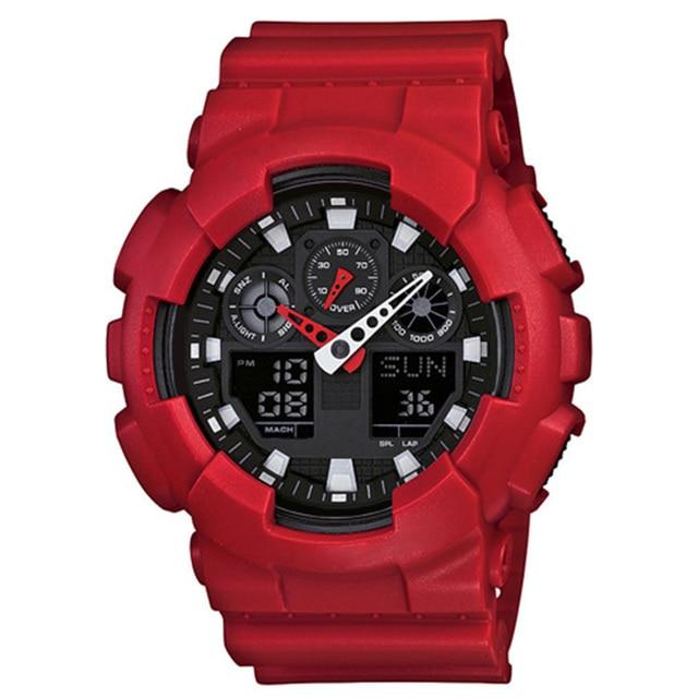 Popular G style shock proof watch men's uniforms men's watch Led digital sports watch men's gift waterproof automatic watch men