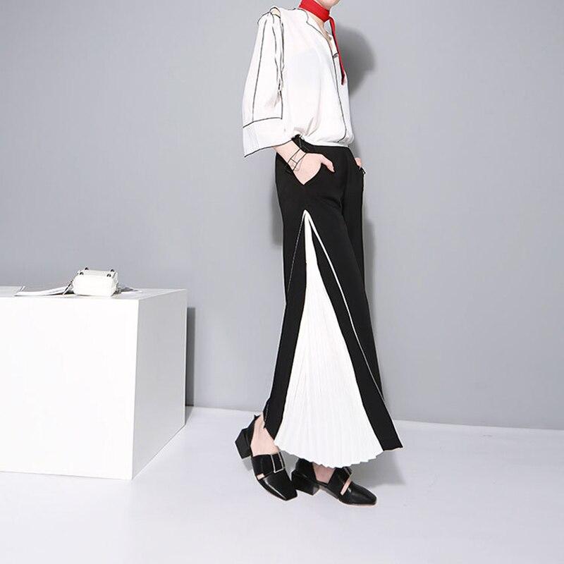 TWOTWINSTYLE בגדים שיפון מכנסיים 8