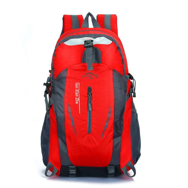 40L Wasserdichte Durable Outdoor Klettern Rucksack Frauen Männer Wandern Sportlich Sport Reise Rucksack Hohe Qualität Rucksack