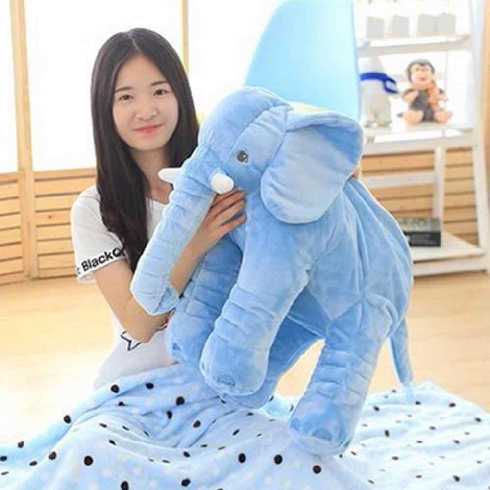 40/60 センチメートル幼児ソフトなだめる象遊び冷静人形赤ちゃんなだめるおもちゃ象枕ぬいぐるみぬいぐるみ人形クリスマスギフト